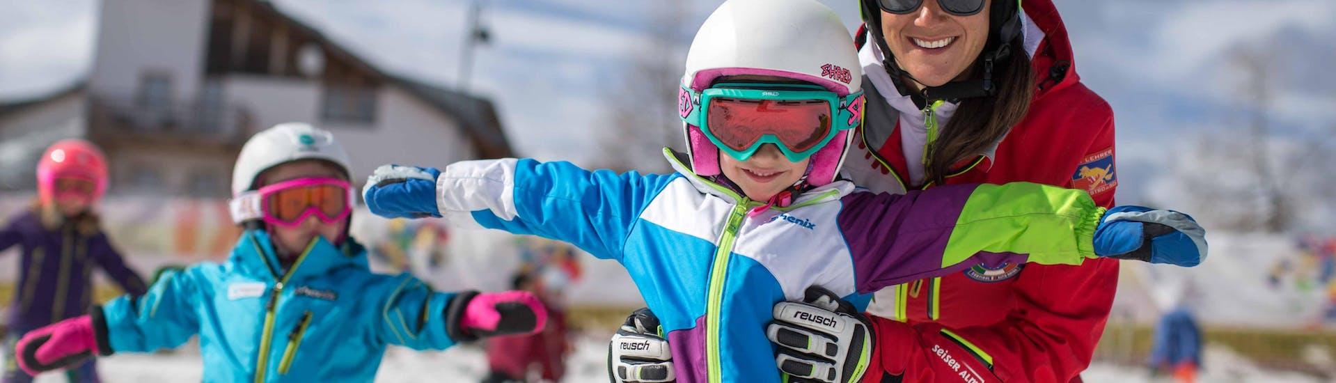 Lezioni private di sci per bambini per tutte le età