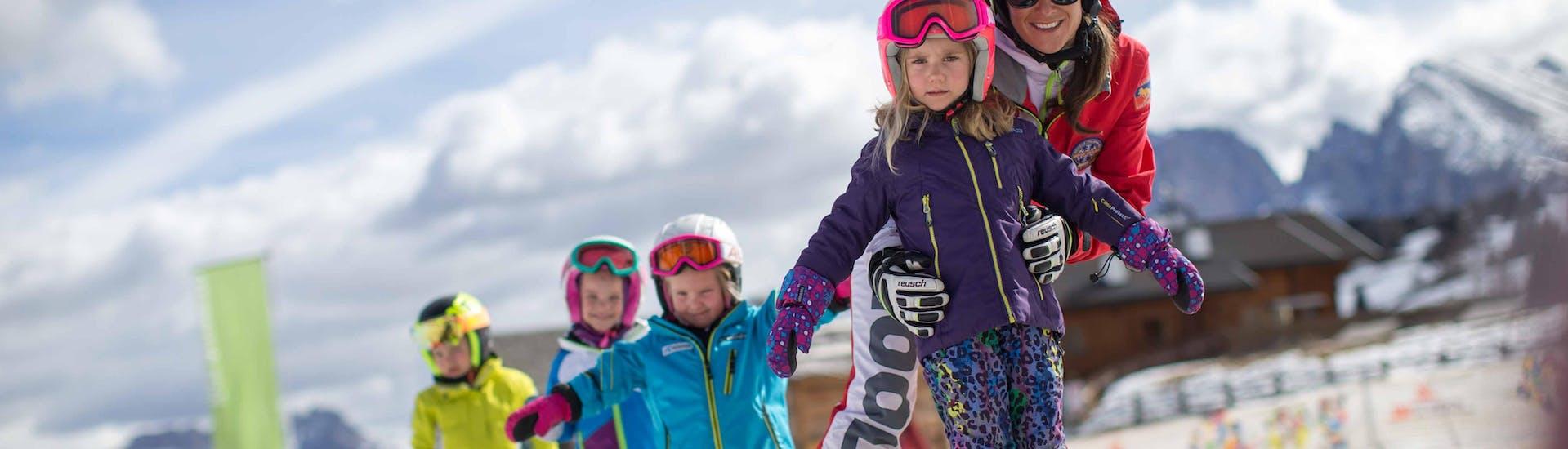 Curso de esquí para niños con experiencia