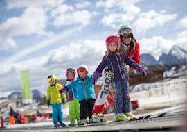 Kids Ski Lessons (5-7 y.) for Intermediate Skiers