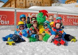 "Kids Ski Lessons ""Lofino's Snowstars"" (3-4 y.) with HERBST Skischule Lofer"