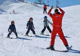 Kids Ski Lessons (4-11 y.) for Advanced Skiers with HERBST Skischule Lofer