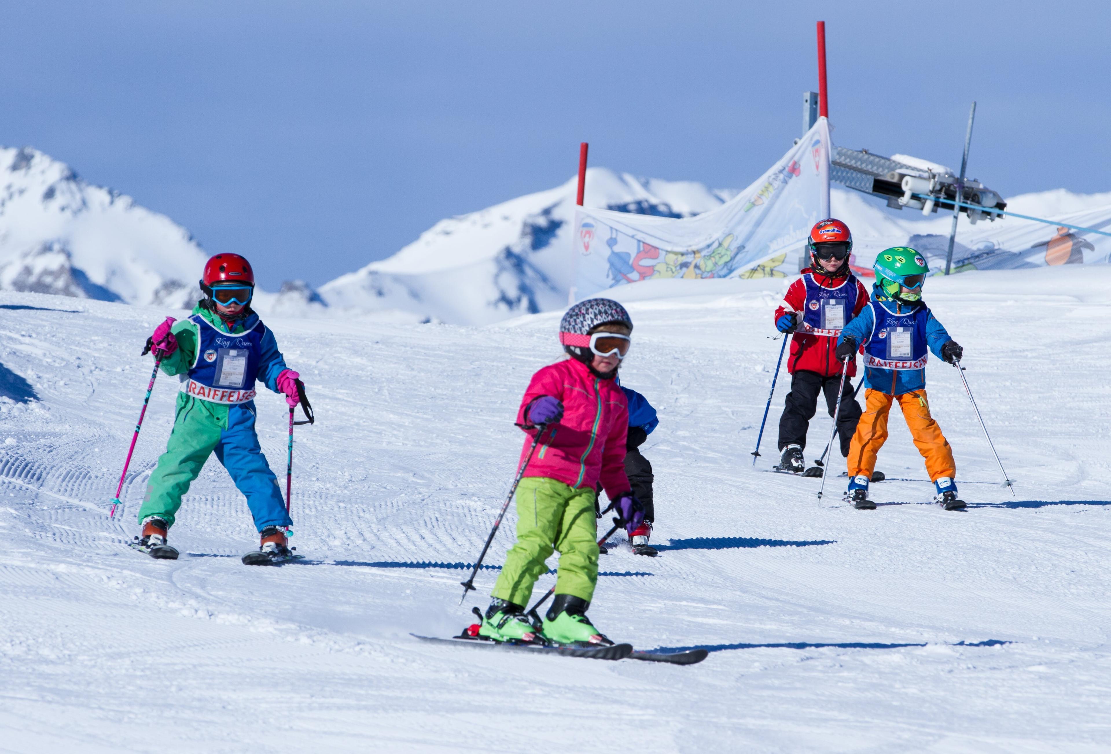Cours de Ski pour Enfants (3 à 7 ans) - Journée