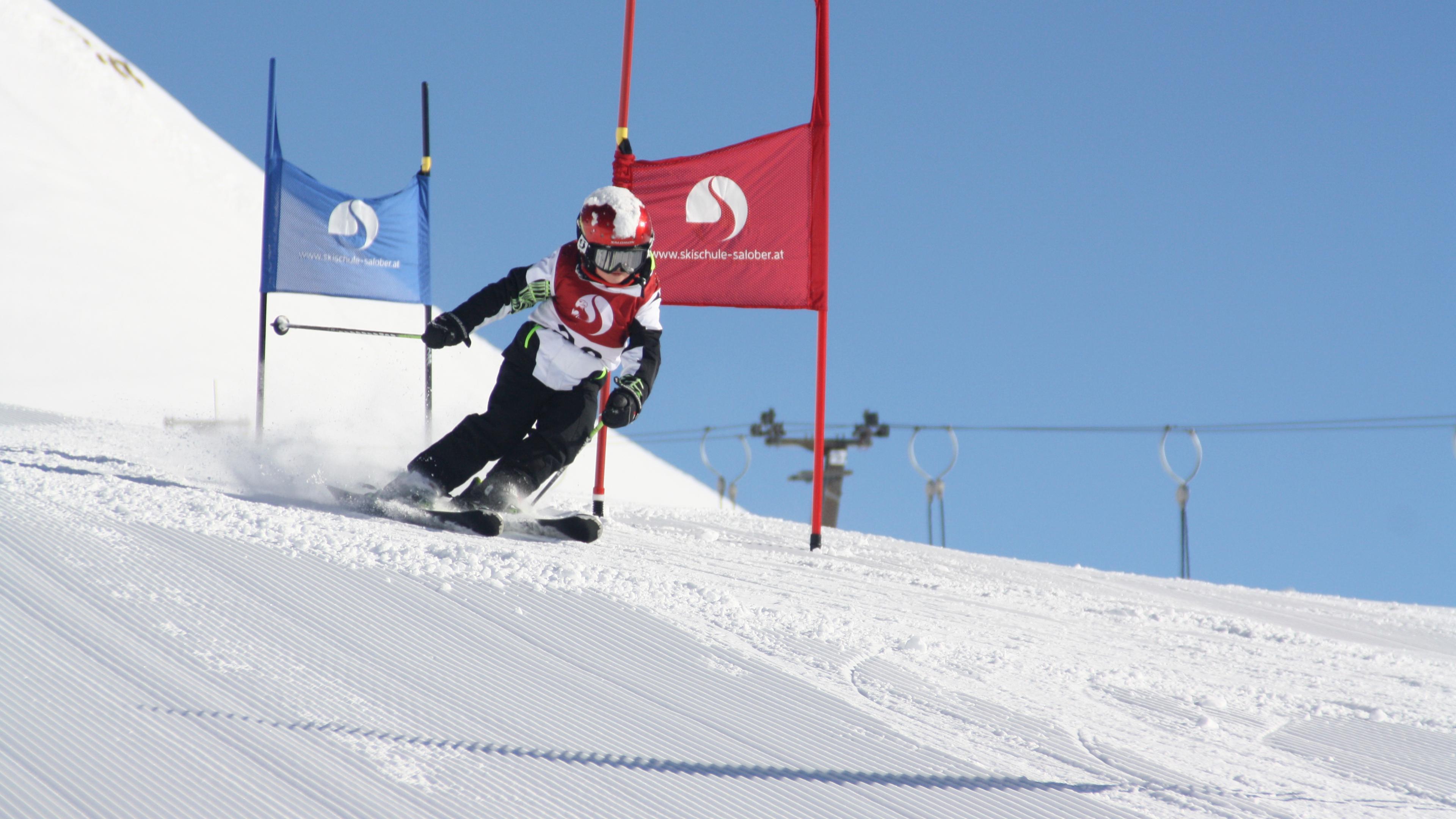 Groepslessen skiën voor kinderen (4-12 jaar) - Gevorderden