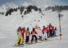 Kids Ski Lessons (5-12 y.) for Advanced Skiers