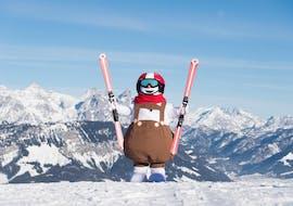 Valles Kinder-Skikurs (3-14 Jahre) für Anfänger