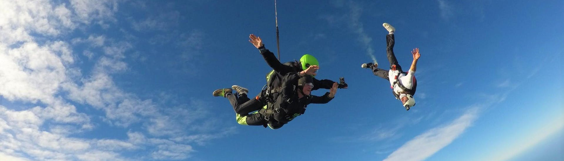 Tandem Skydive near Christchurch from 13,000ft