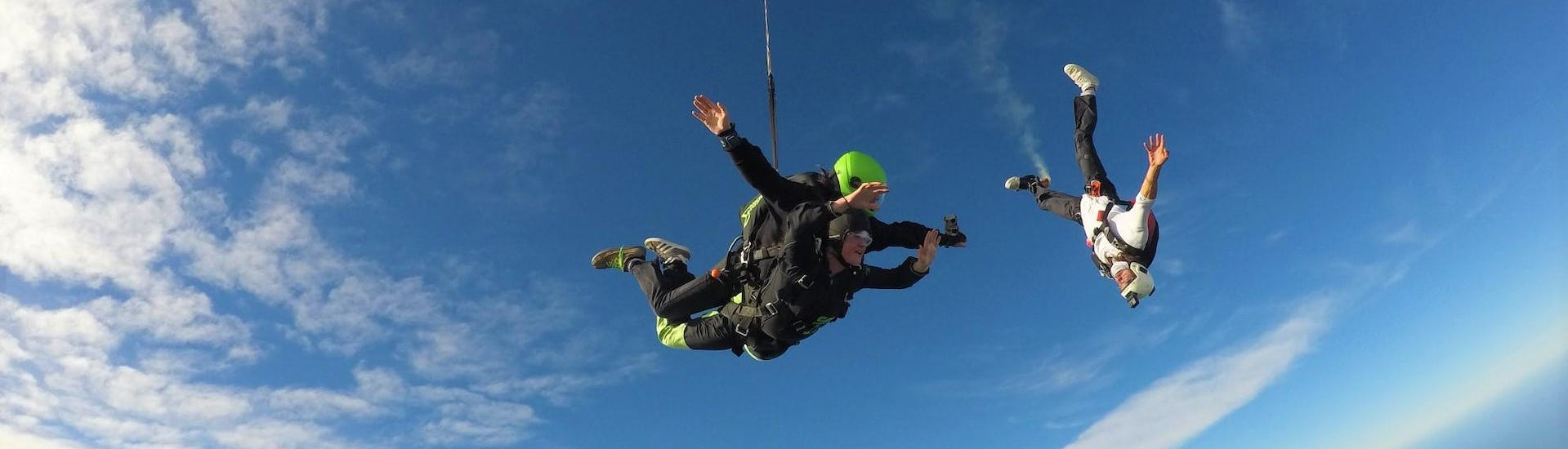 Tandem Skydive near Christchurch from 6,000ft