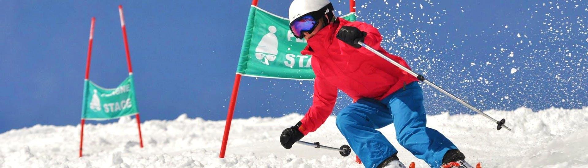 Cours de ski slalom pour Ados & Adultes - Expérimenté