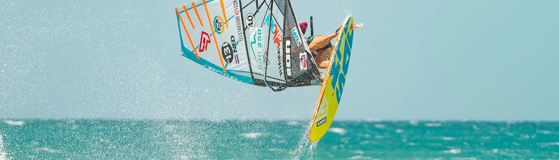 Advanced Windsurfing Lessons at Lister Ellenbogen with Kiteschule Sylt - Hero image