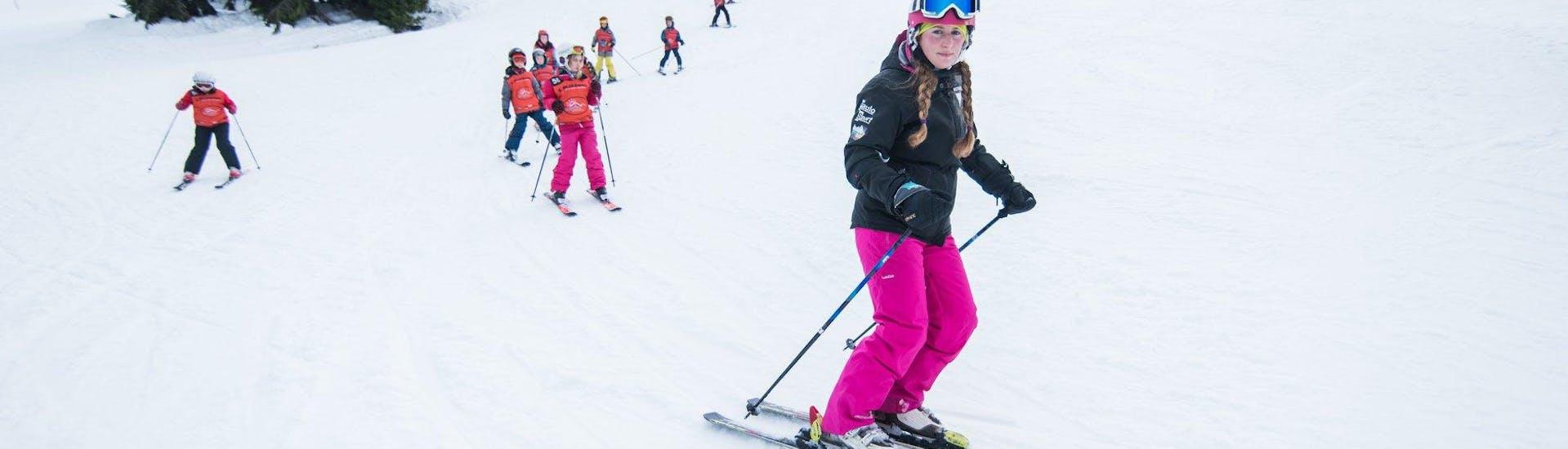 Ski Lessons for Kids (4,5-15 years) - Advanced with Szkola Narciarska Snow4fun - Hero image