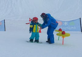 Snowboard Lessons (6-12 y.) - Holidays - Without Experience