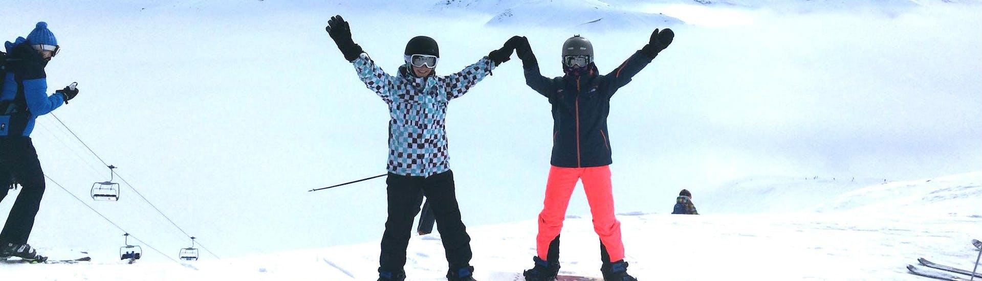 Curso de snowboard a partir de 8 años para avanzados