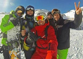 Cours particulier de snowboard dès 5 ans pour Tous niveaux
