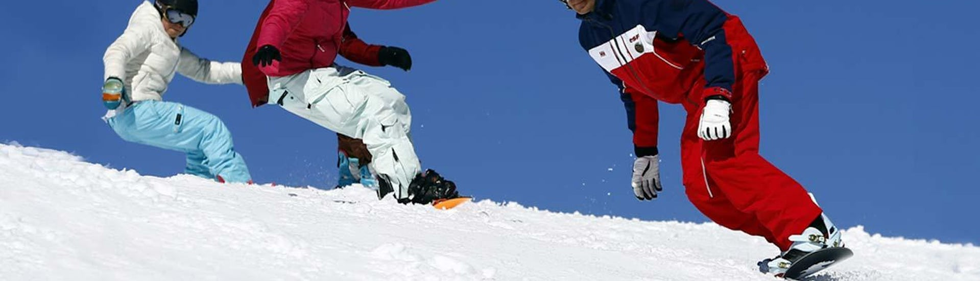 Snowboarding Lessons (from 8 years) - Morning - All Levels