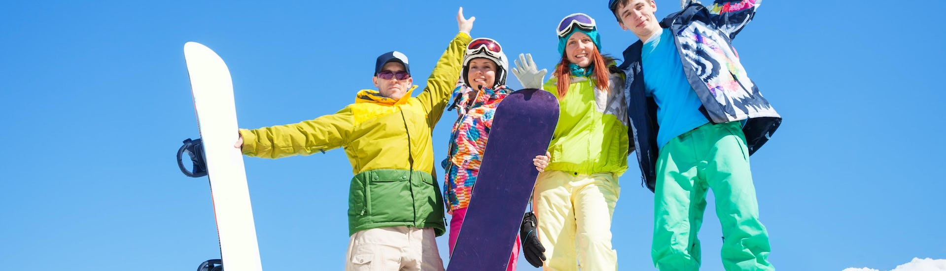 """Snowboard Lessons for Adults """"All-In-One"""" - All Levels"""