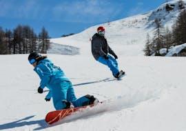 Snowboardlessen voor alle niveaus met ESI Ozone Les Orres