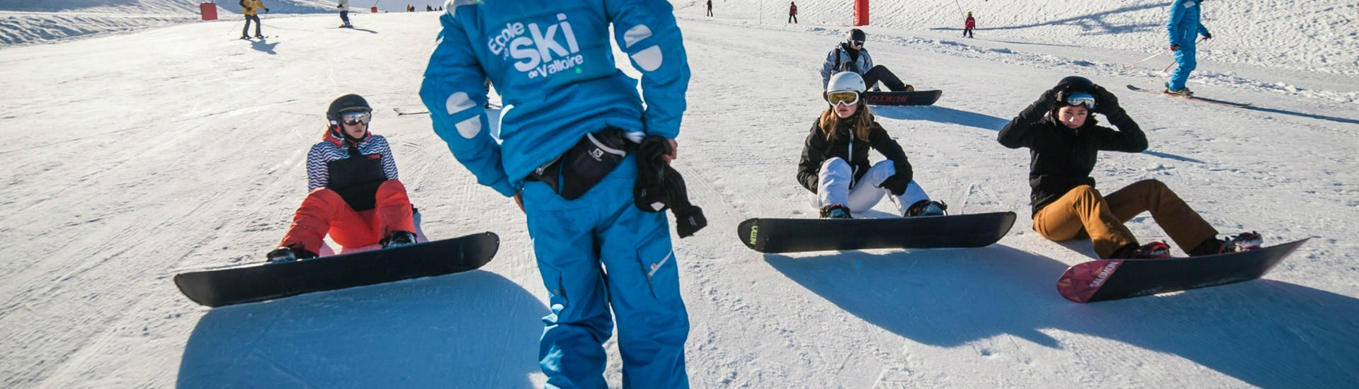 Snowboarding Lessons (from 10 years) - High Season -Beginner