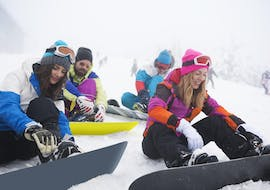 Snowboard Lessons for Adults - All Levels