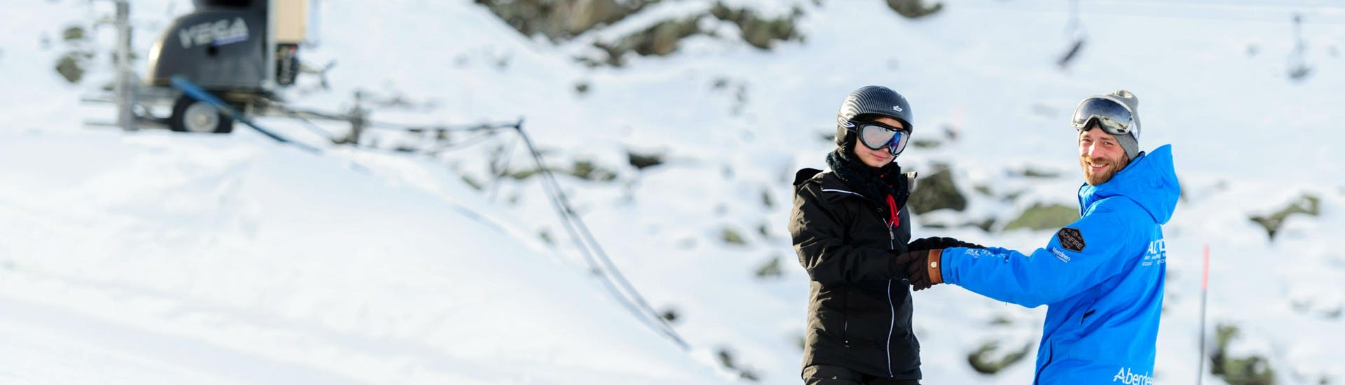 Private Snowboarding Lessons for All Levels in Verbier with Altitude Ski School Verbier & Gstaad - Hero image
