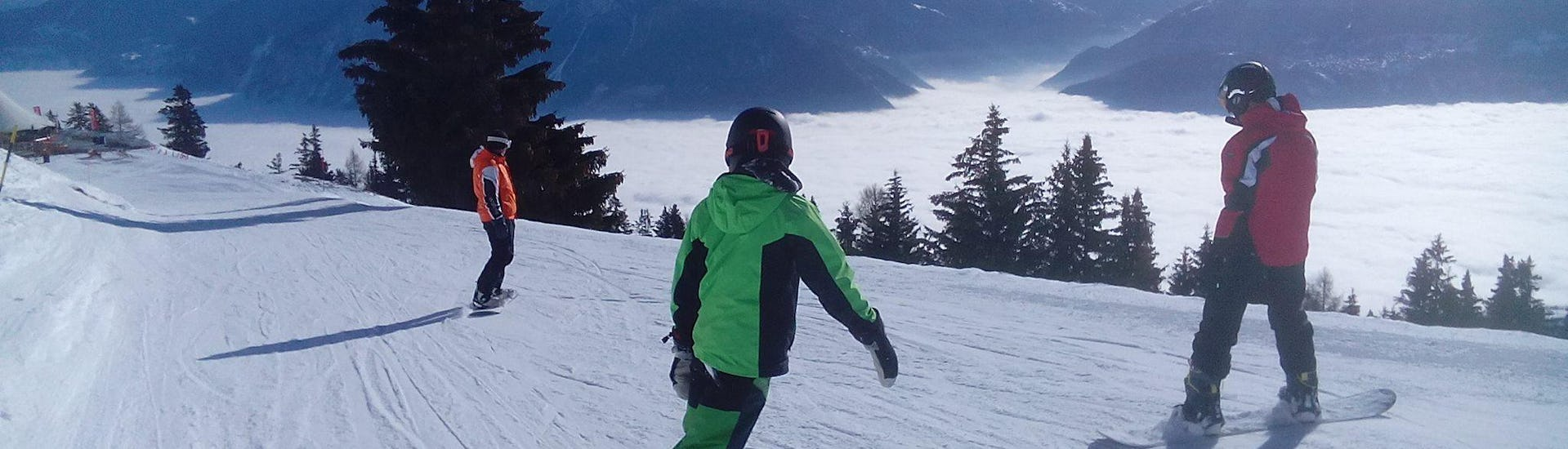Snowboarding Lessons for Kids (12-15 years) - Max 5 - Crans