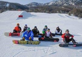 Cours de snowboard Ados & Adultes pour Tous niveaux avec Ski Connections Serre Chevalier