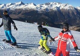 Lezioni di Snowboard a partire da 8 anni per principianti