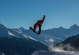 Snowboard Lessons for Kids & Adults - Holidays - Advanced