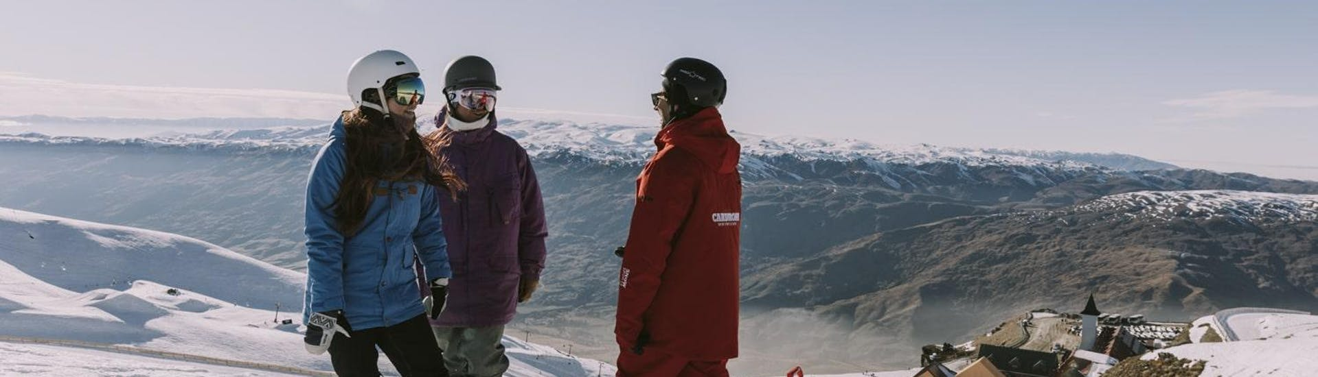 Snowboarding Lessons Adults - First Timer - With Transfer