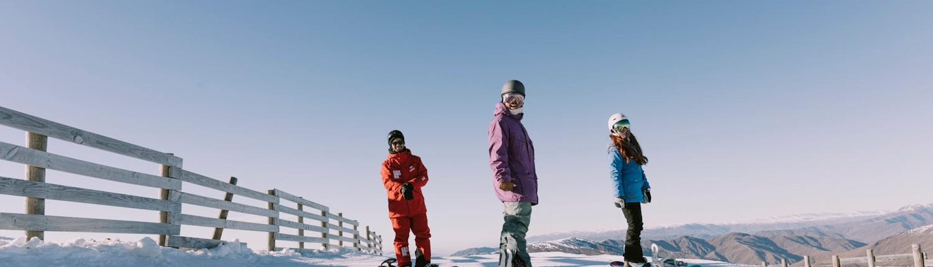 Snowboarding Lessons for Adults - All Levels - With Transfer