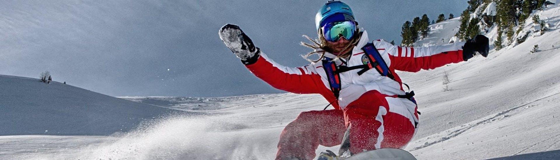 Curso de snowboard a partir de 10 años para avanzados