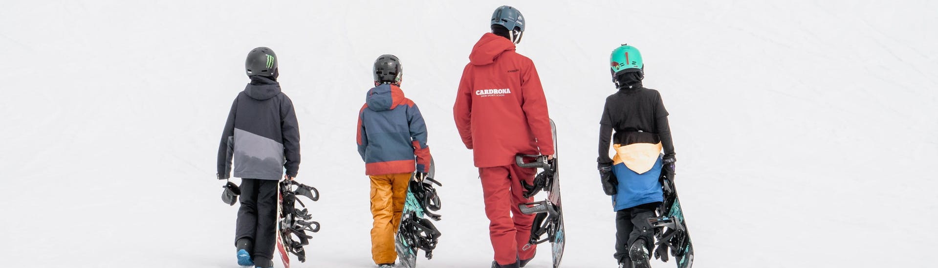 """Snowboarding Lessons """"Lowriders"""" (7-14 years) - All Levels"""