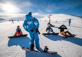 Snowboarding Lessons for Kids (from 10 y.) for 1st Timers