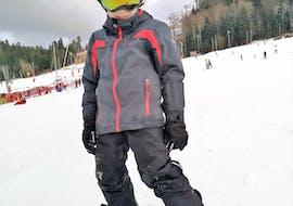 Snowboardlessen vanaf 8 jaar voor alle niveaus