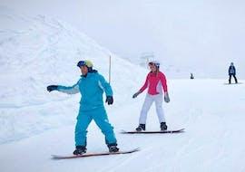 Premier Cours de snowboard (dès 8 ans) - Matin
