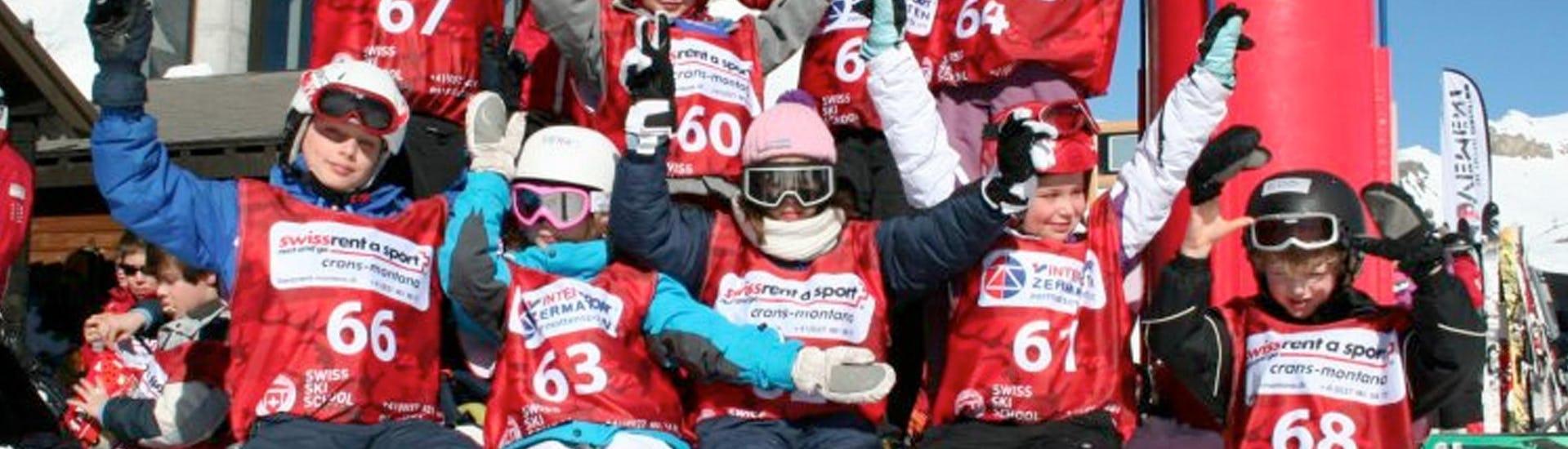 "Ski Lessons ""Snowli Club"" (4-6 years) - All Levels"