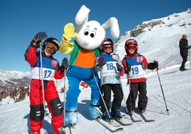 Ski Lessons for Kids (3-16 years) - Full Day - Advanced
