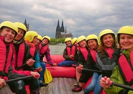 Soft Rafting on the Rhine in Colonia for Groups