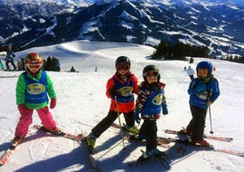 """Kids Ski Lessons """"Bambini"""" (4-5 y.) for All Levels -Full Day with Skischule Söll Hochsöll Embacher"""
