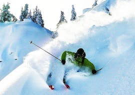 """Private Off-Piste Skiing Lessons for All Levels - """"Friends"""""""