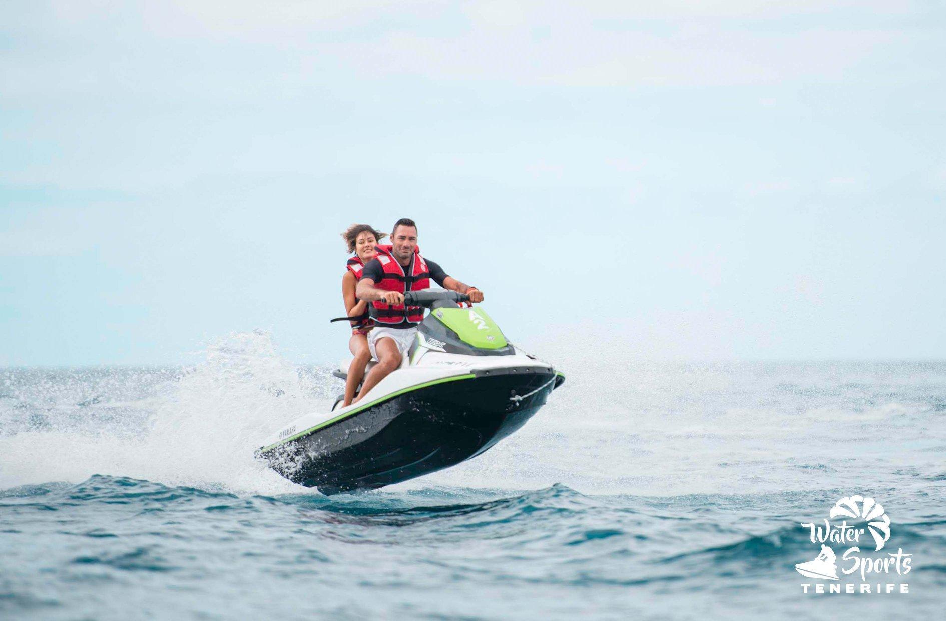 Jet Ski Safari from Costa Adeje to San Juan Beach