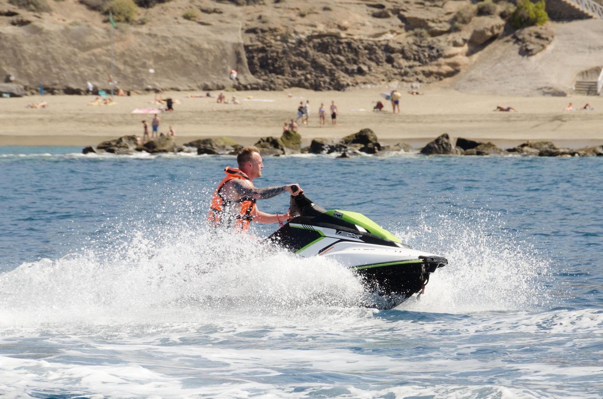 Jet Ski Safari to Los Gigantes from Costa Adeje