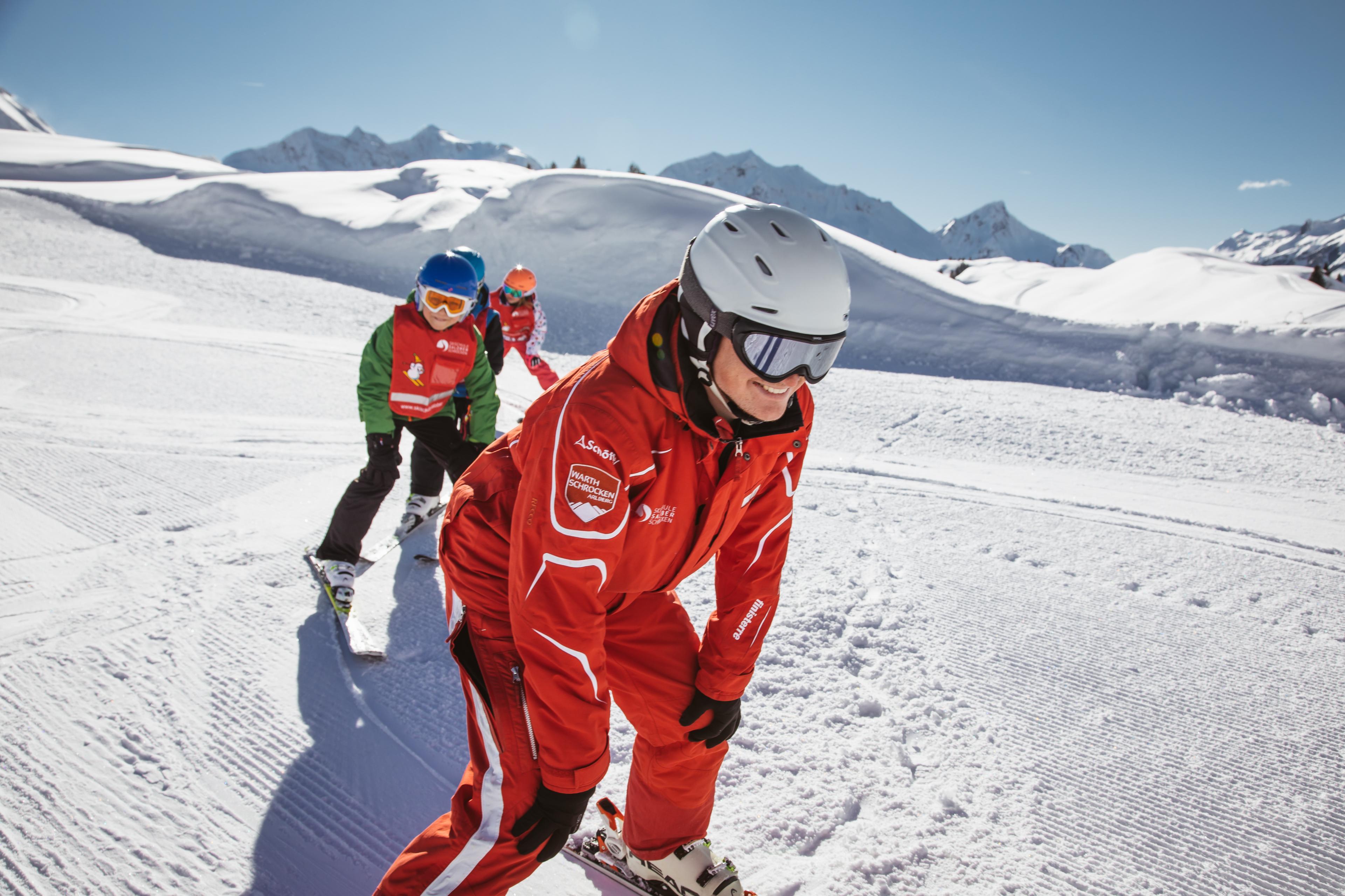 Groepslessen skiën voor kinderen (4-12 jaar) - Beginners