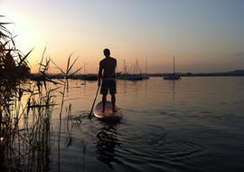 Stand-Up-Paddling on Lake Constance