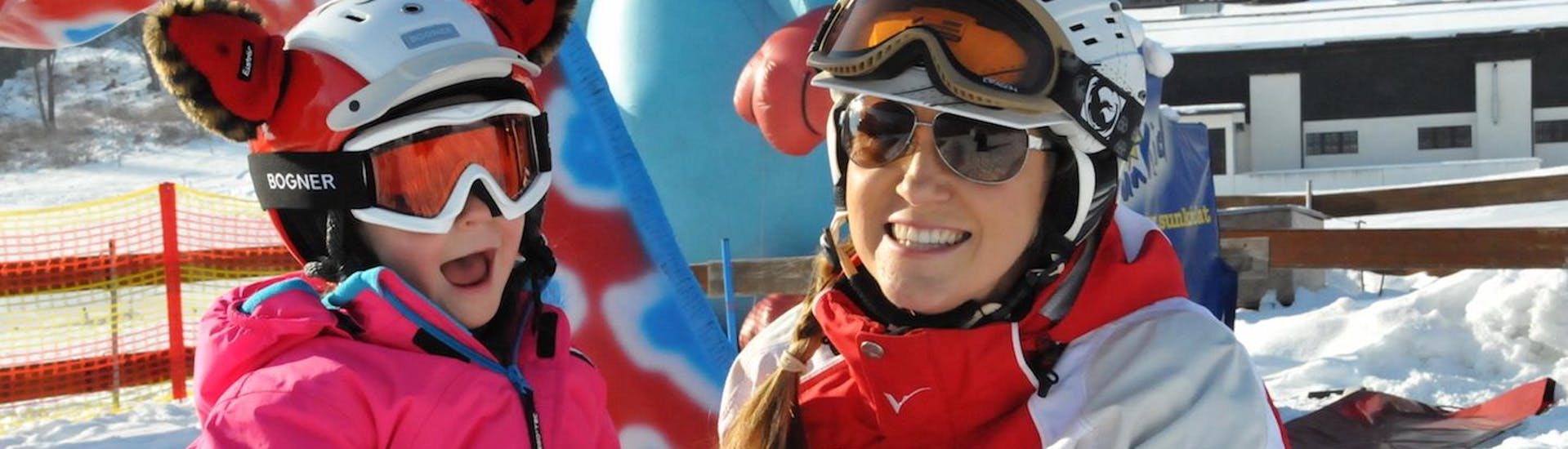 Kids Ski Lessons (4-12 y.) for Beginners with Snowsports Company Zell am See - Hero image
