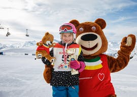 "Kids Ski Lessons ""All In One"" (4-14 y.) for Beginners"