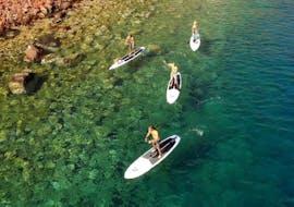 Sortie en stand up paddle à Kamari (dès 12 ans) pour Tous niveaux