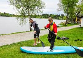 SUP Lessons Beginner and Advanced at Riegsee