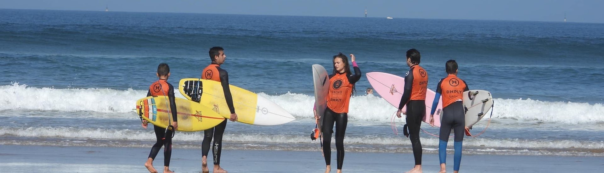 Surfing Lessons for Kids & Adults - Winter - Beginners