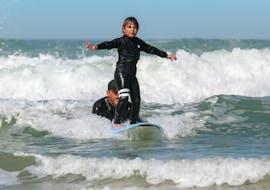 Surfkurs für Kinder (4-10 J.) in Lacanau
