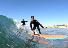 Surfing Lessons (from 8 y.) in Albufeira for Beginners with Albufeira Surf & SUP